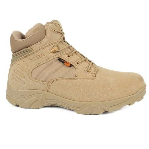 Mens Ankle Army Shoes