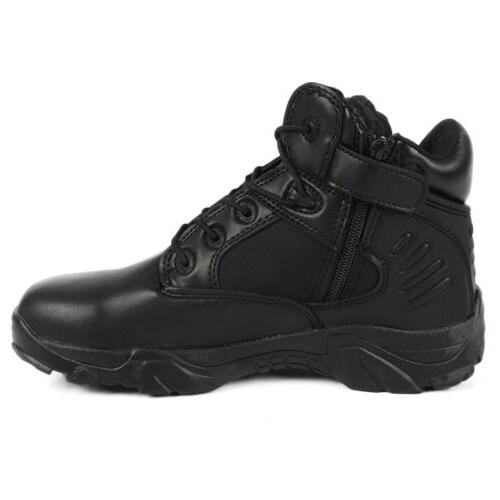 Mens Military Tactical Ankle Boots Combat Army