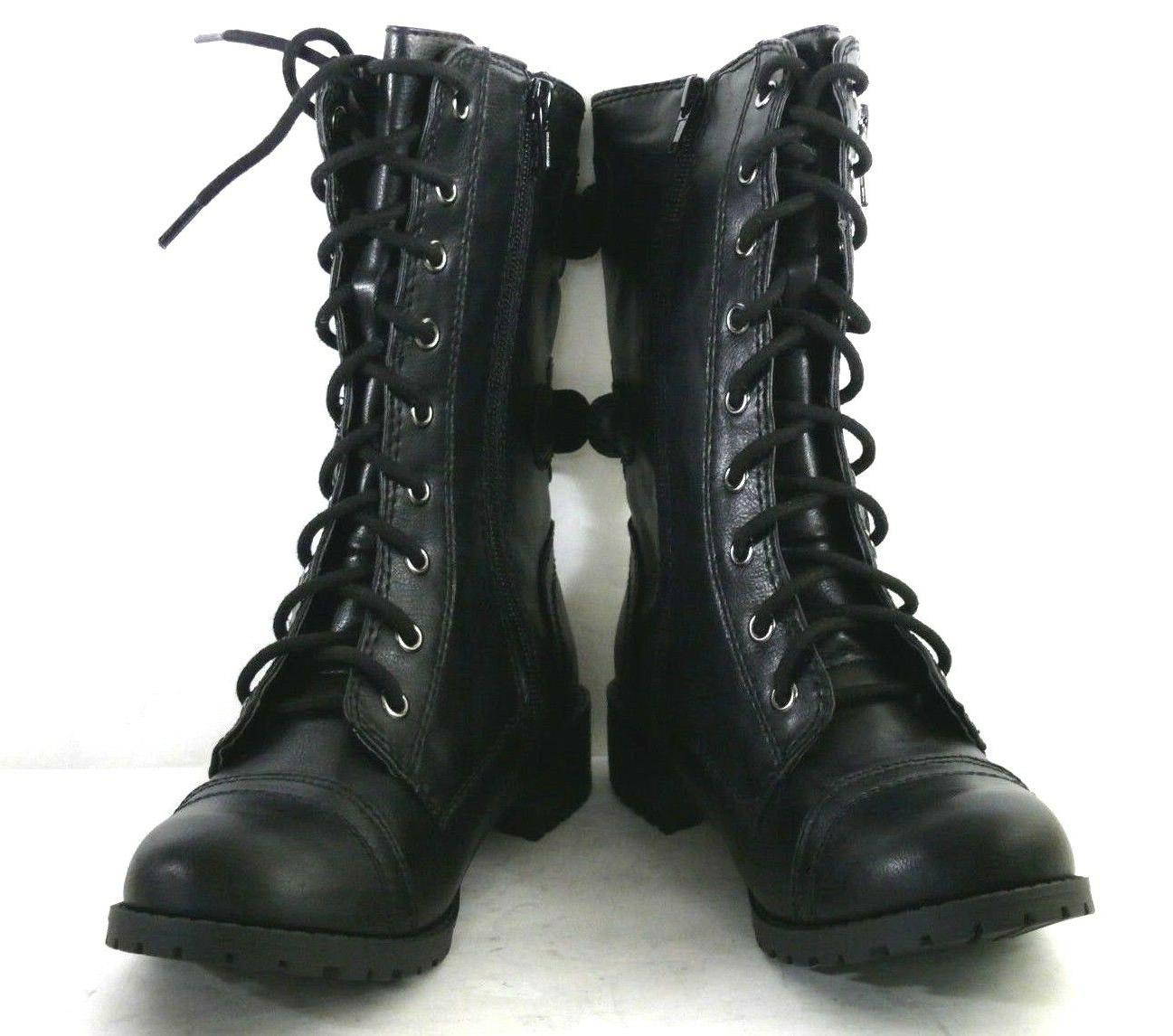 MILITARY UP WOMEN BOOTS SODA DOME
