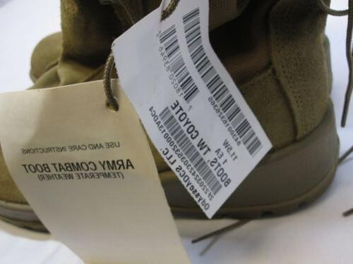 NEW US ARMY OCP GORE-TEX COYOTE WIDE VIBRAM BOOT