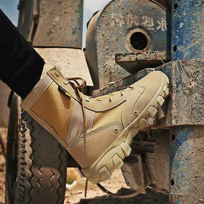 New Mens Military Boots Up Outdoor Desert Shoe