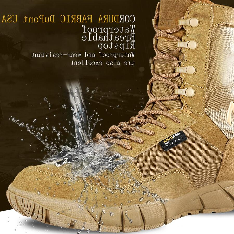 New Quality Tactical Military Work Men <font><b>Boots</b></font> Women sneakers