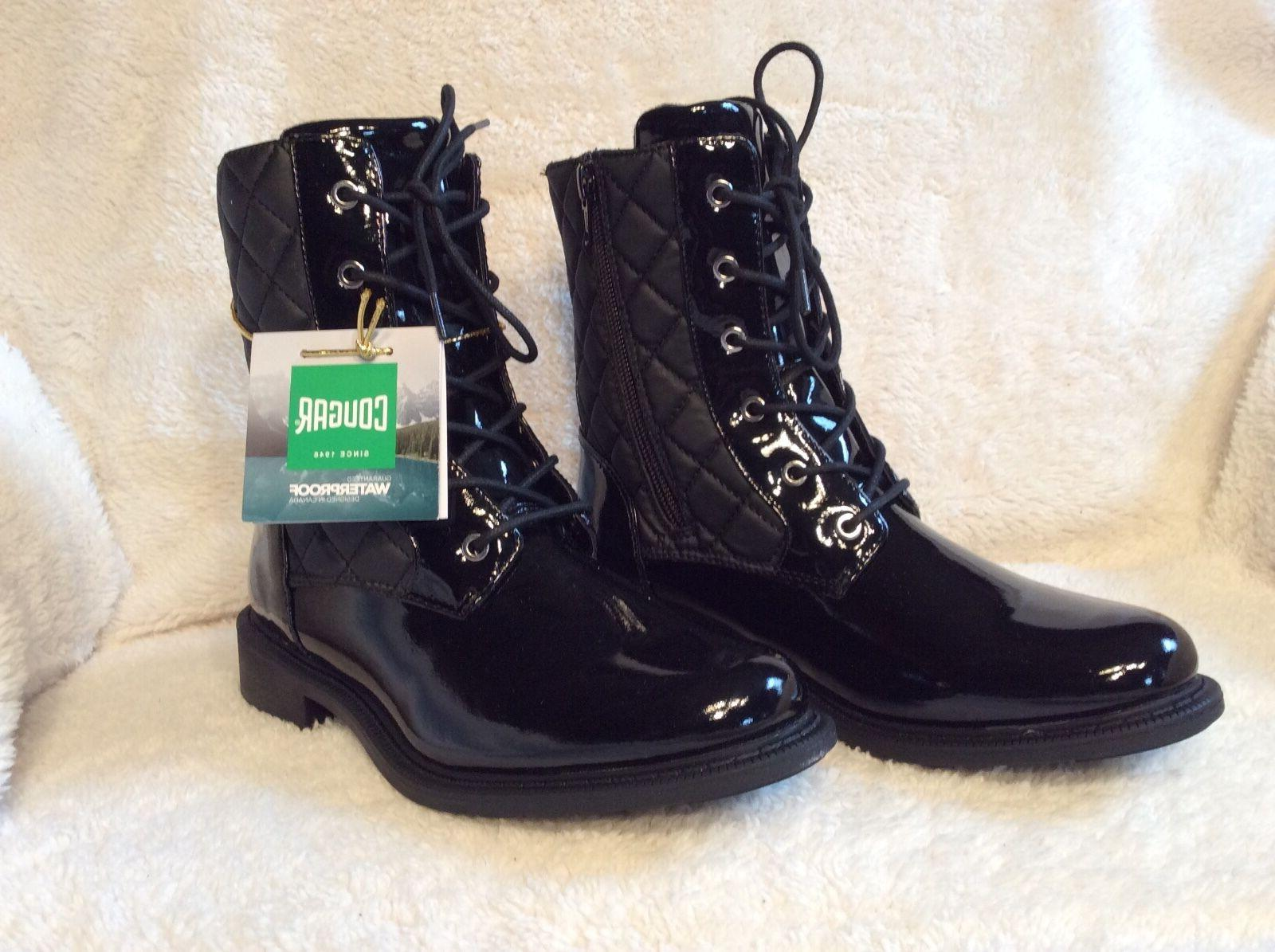 New Size 7 Woman's Black Waterproof Boots Cougar Jessy Boots