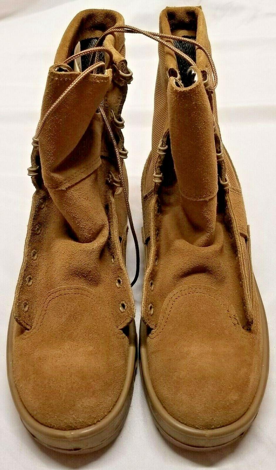 new temperate cold weather army boots coyote