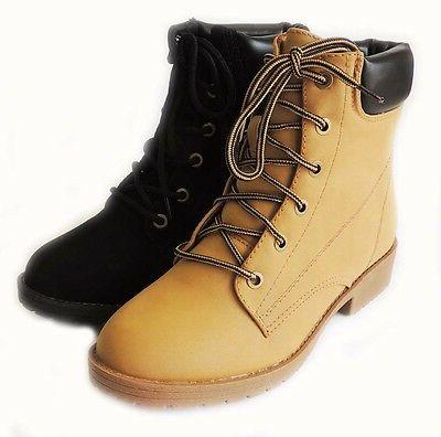 new women fashion ankle boots military combat