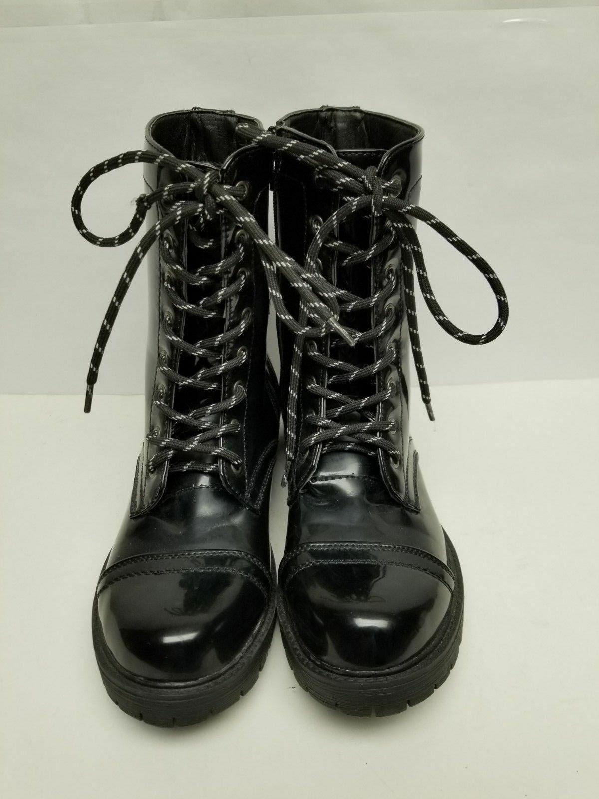 NEW! Women's MADDEN BLACK BOOTS Side-Zip with 7.5