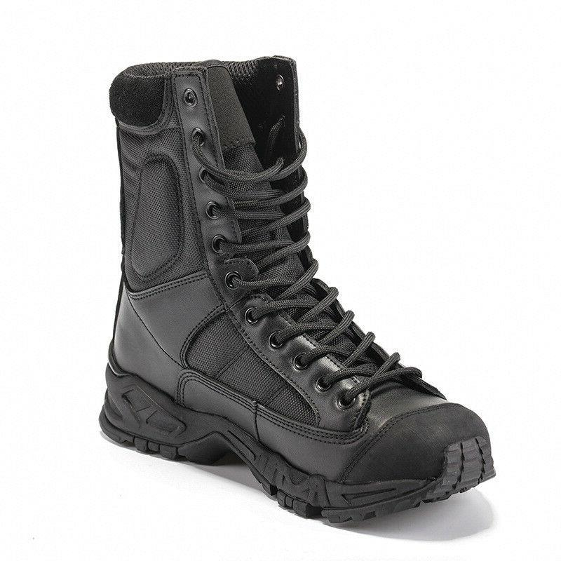 outdoor mens leather tactical boots military combat