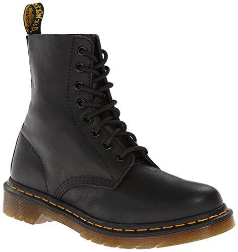 pascal black anklehigh leather boot