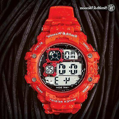 smith and wesson tactical digital shock watch