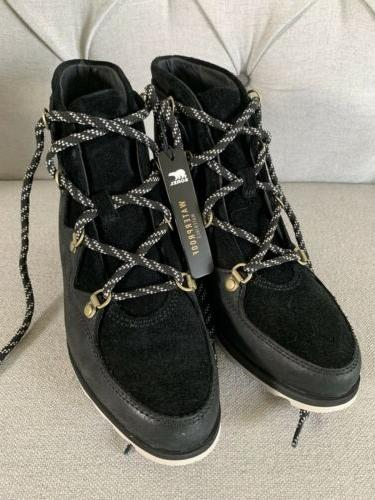 sneakchic alpine mid rise womens boots size