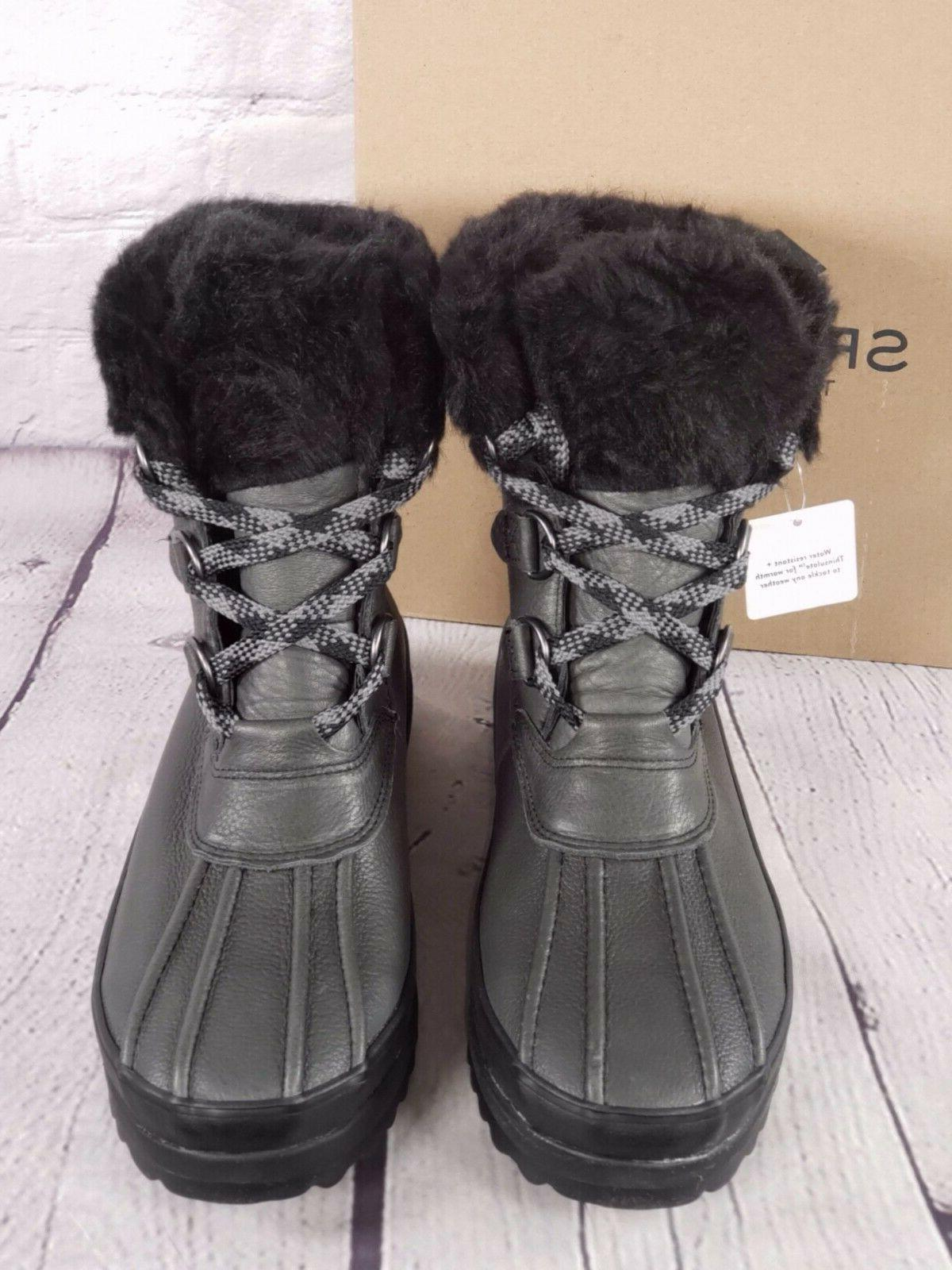 Sperry Winter Boots - Black - M