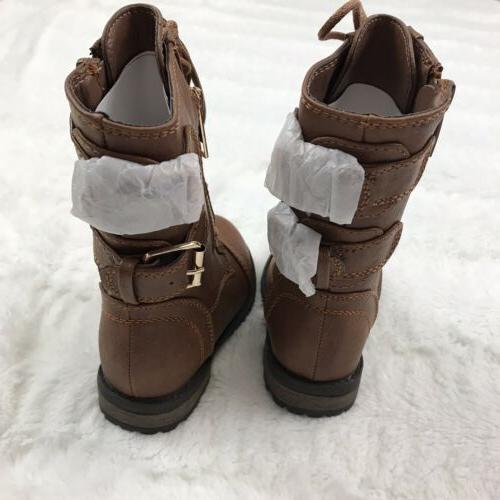 Link Boots Lace Up Buckles