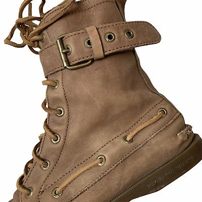 Sperry Starpoint Lace Moccasin Boots
