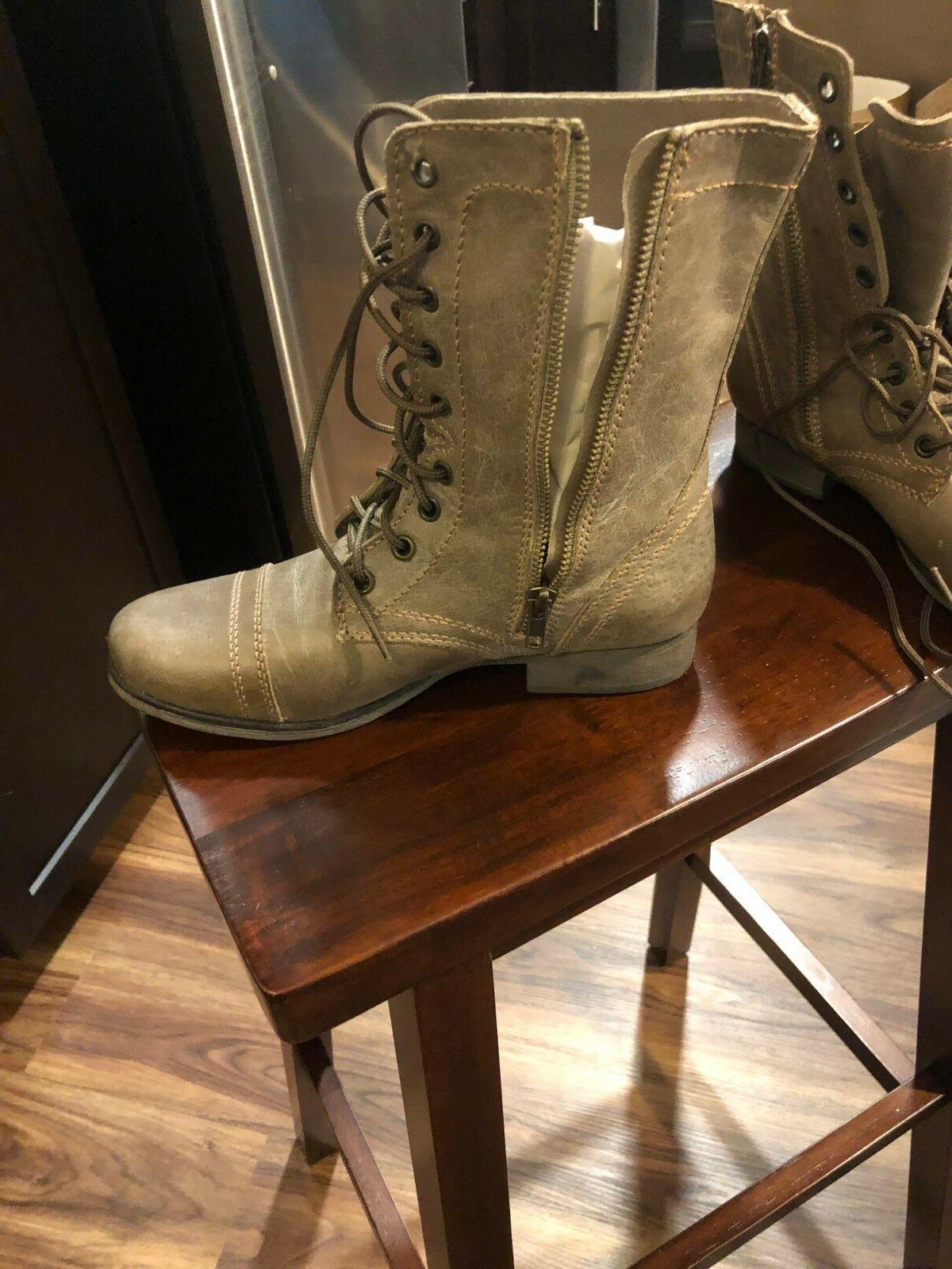 Steve Madden Boots Leather, Womens Size - NEW