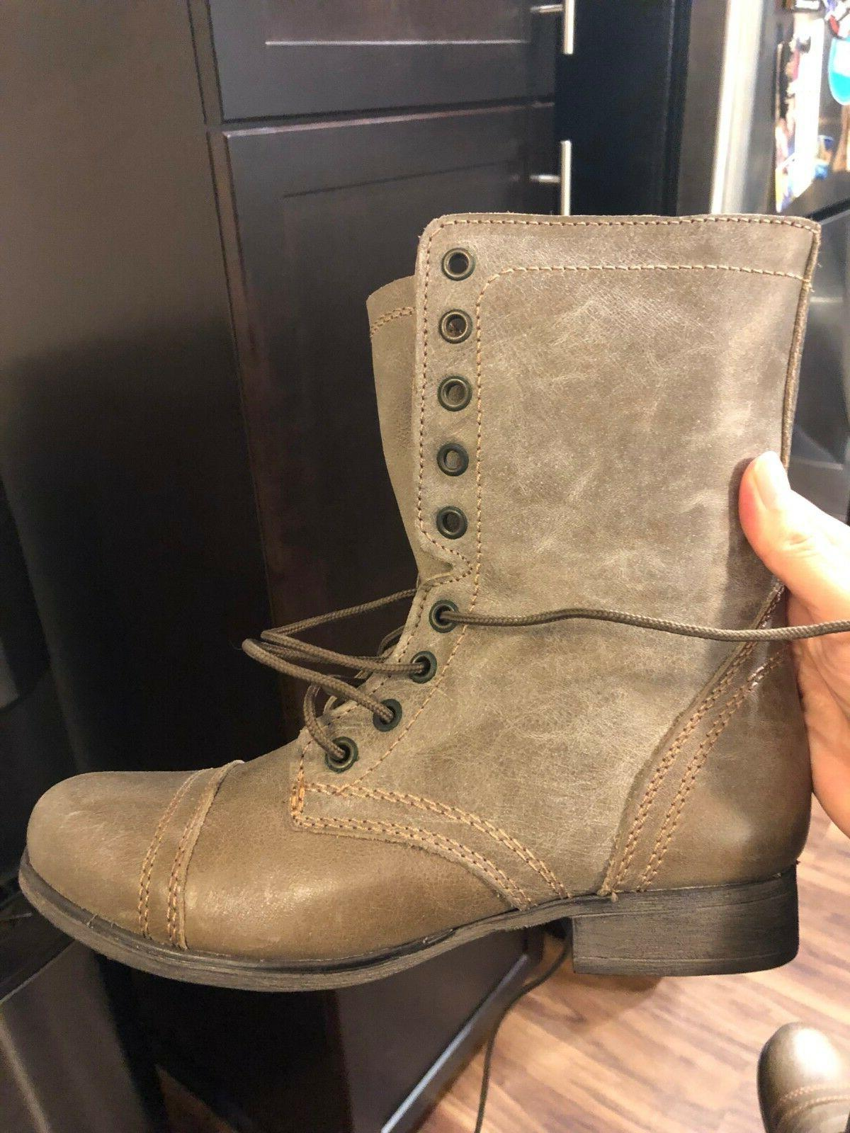 Steve Madden Boots - Stone Womens -