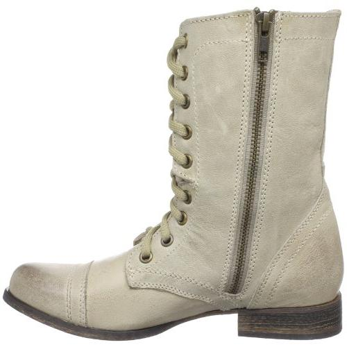 Steve Madden Troopa Leather Womens Military