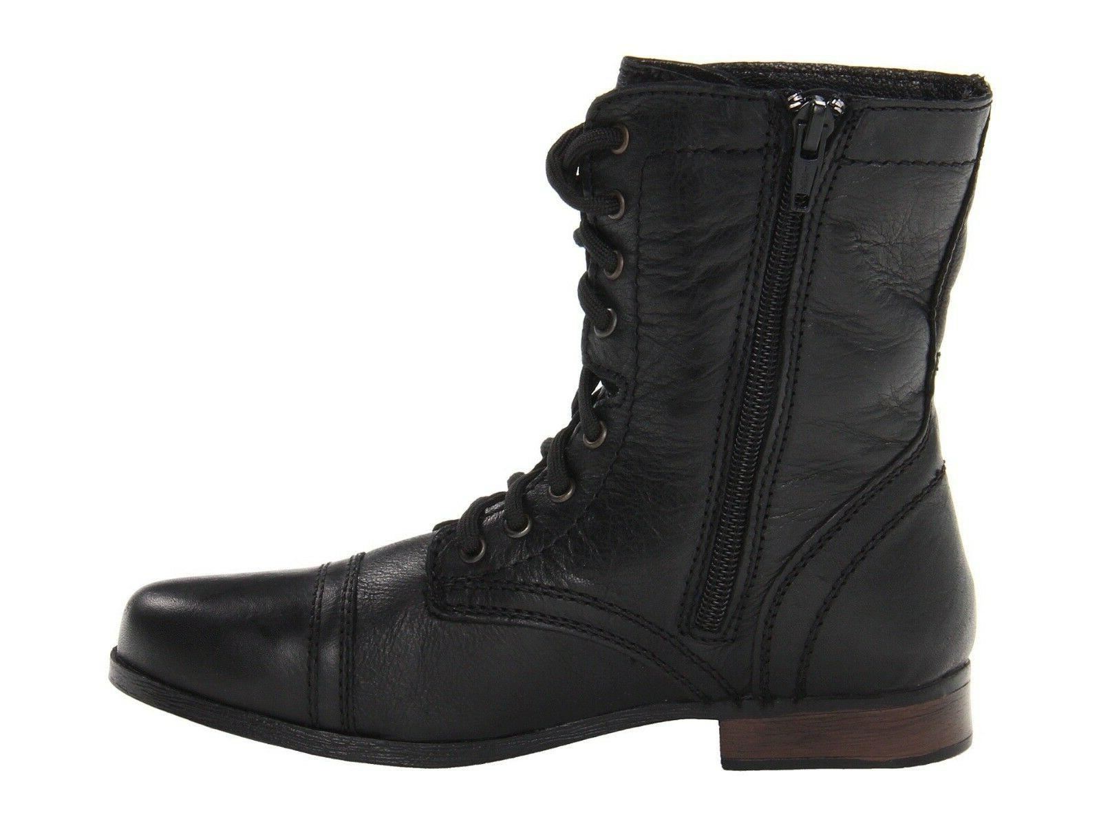 Steve Madden TROOPA Black Up Boots