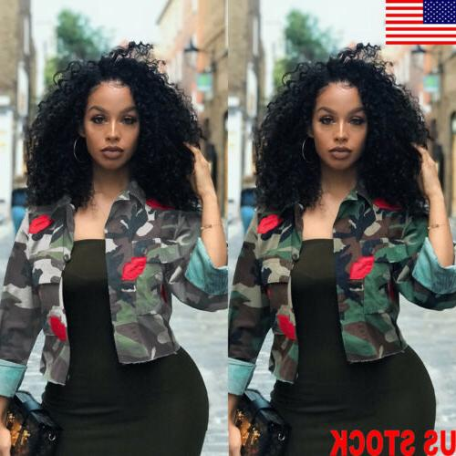 us fashion women s camouflage military army