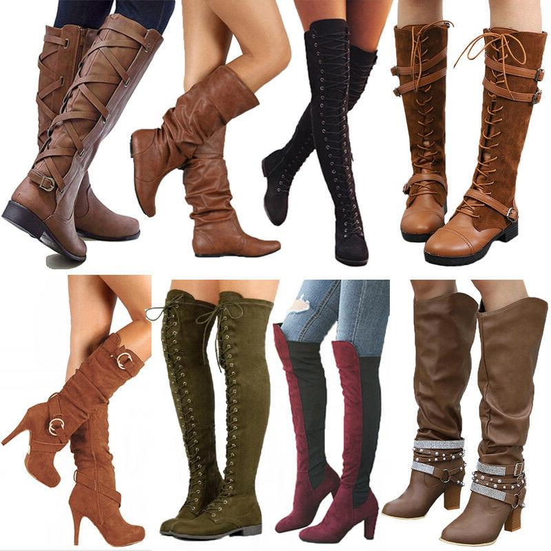 Women Boots The Calf Leg Boots