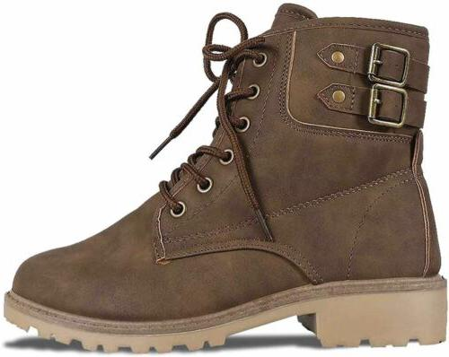 Women's Army Boots Up Heel Rubber Boots