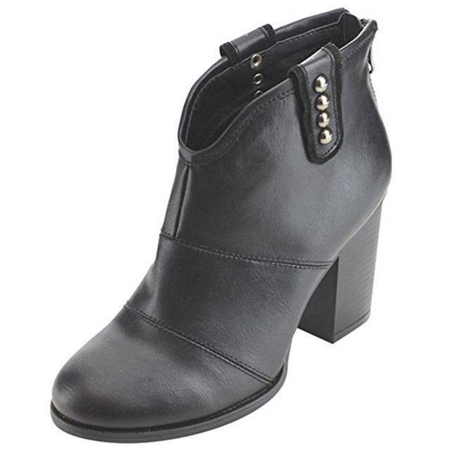 Women's Block Booties Ankle Boots New