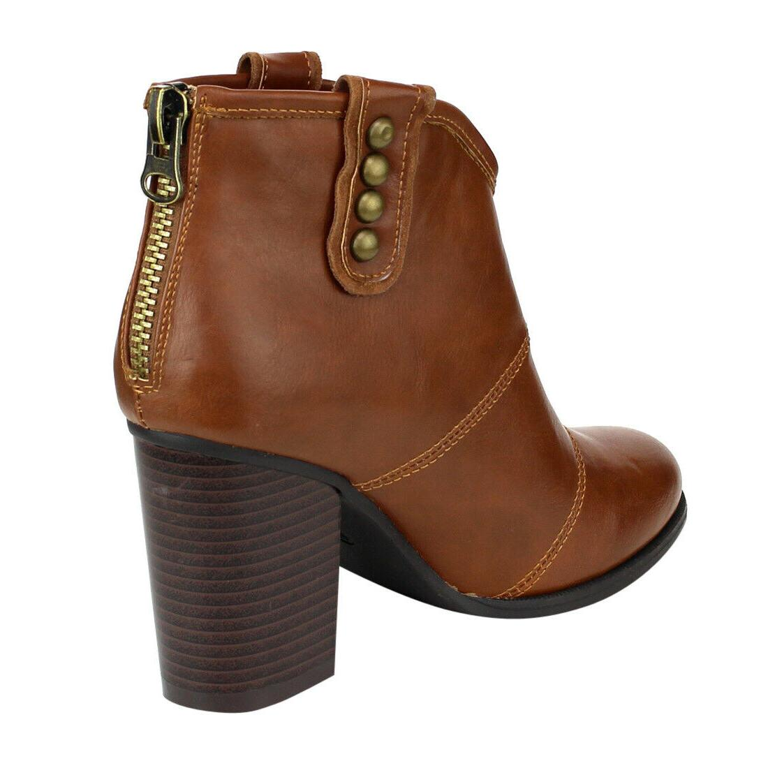 Women's Booties Back Boots Boots New