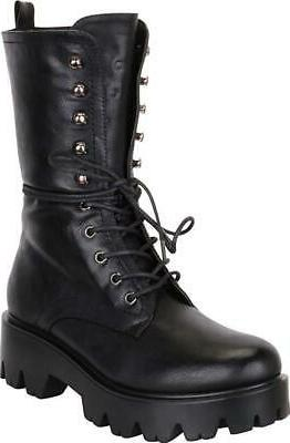 Cambridge 90s Lace-Up Sole Boot