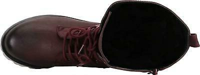 Cambridge Select Women's 90s Lace-Up Chunky Sole Combat