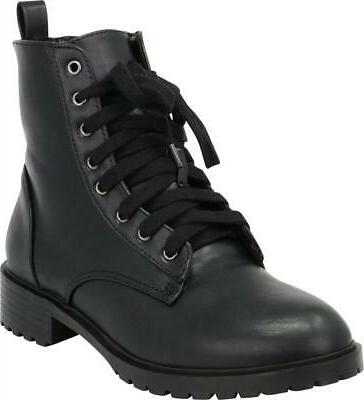 Cambridge Women's Lace-Up Military Boot