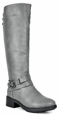 Women's Knee High Winter faux fur lining Military Combat Boo