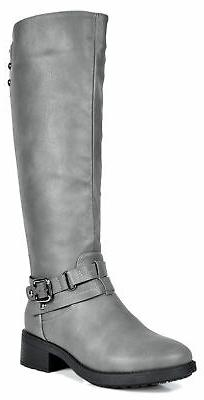 DREAM PAIRS Women's Knee High Winter Military Combat Riding