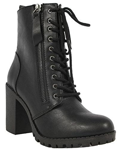 women s malia faux leather lace up