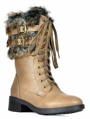DREAM New Military Mid Calf Riding Boots