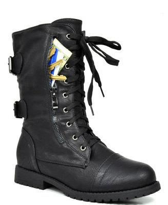 DREAM Lace up Mid Calf Ankle