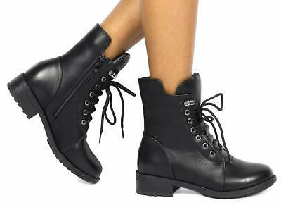 DREAM Black Combat Boots M