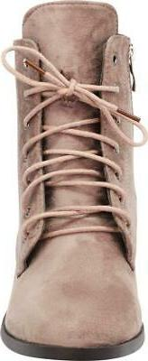 Cambridge Women's Round Toe Lace-Up O-Ring Heel Ankle