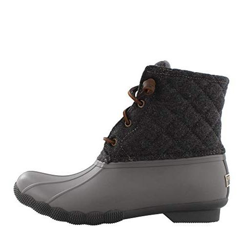 women s saltwater quilt wool boots grey