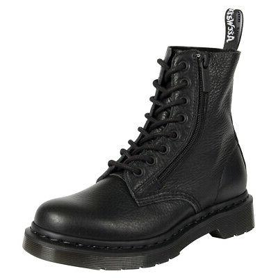 Womens Dr Martens 1460 Pascal With Zip Closed Toe Fashion An