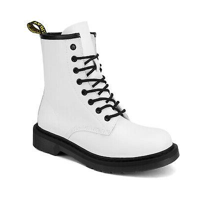 DREAM PAIRS Martin Military Combat Ankle Boots Lace Boots