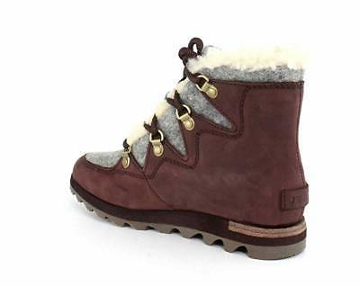 Sorel Womens Sneakchic Holiday Combat Boots