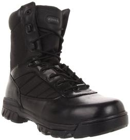 Law Enforcement Boots Slip Resistant Rubber Outsole Leather