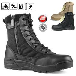 Men Military Tactical Boots Desert Combat Army Hiking Travel