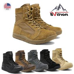 NORTIV 8 Men's Military Tactical Combat Army Boots Lightweig