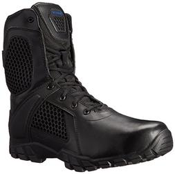 "Bates Men's 8"" Strike, Side Zip-M, Black, 9.5 M US"