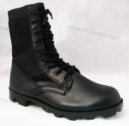 Men's Boots Jungle GI Type Black Tactical Combat Military Wo
