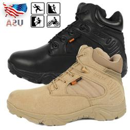 Men's Delta Military Tactical Ankle Trail Boots Army Hiking