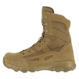 Reebok Men's Military Army Boots 8 Inch Coyote Soft Toe