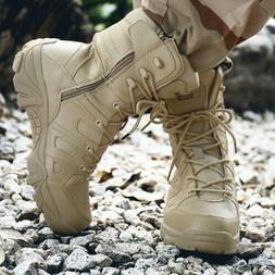 Men's Military Tactical Boots Waterproof Hiking Combat Boots