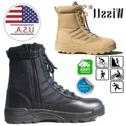 men s outdoor military tactical boots combat