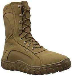 Rocky Men's RKC050 Military and Tactical Boot, Coyote Brown,